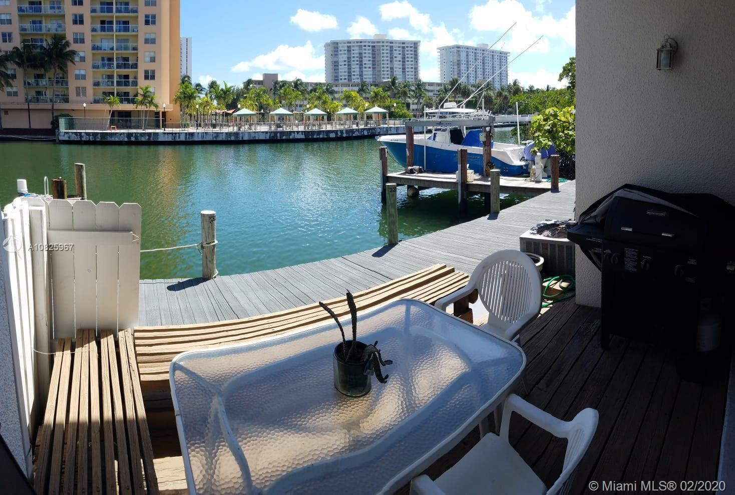 Exclusive private island in Sunny Isles Beach. Boat Owners!!! dock your boat (30+Ft)in DEEDED DOCK