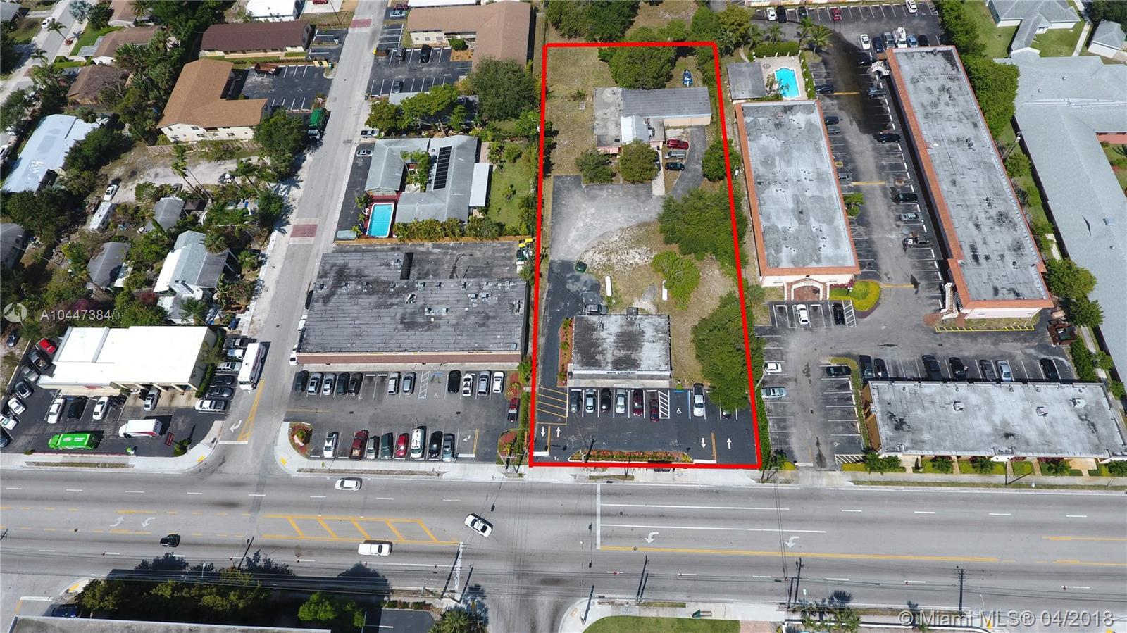 1.25 +/- acres of prime development land in sought after Wilton Manors.  Fronting busy North Andrews