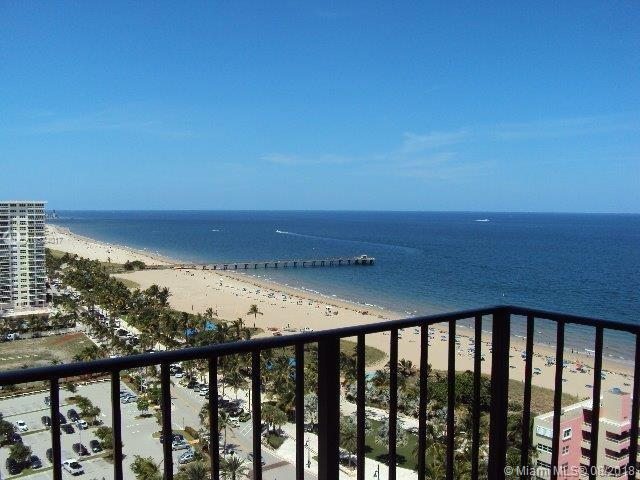 Looking for a beach condo? Amazing ocean and intracoastal views from the 19th floor balcony! Offered