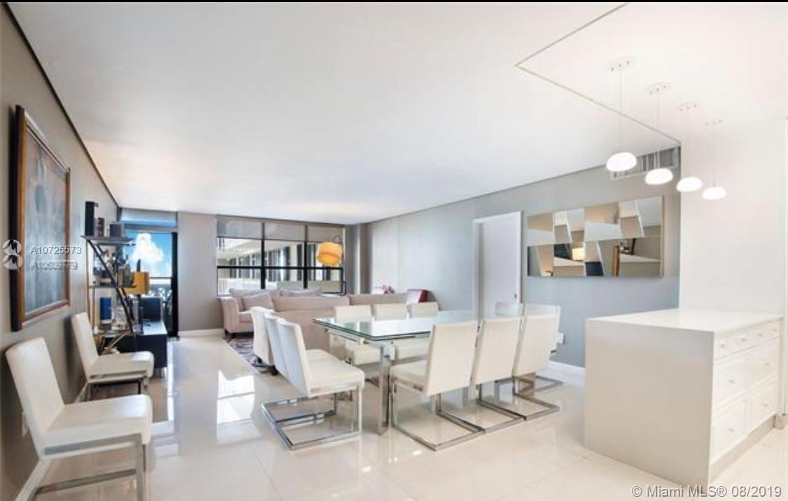 3 bedrooms in Balmoral Condo with direct ocean view.Across the Bal Harbour shoplng center in restora