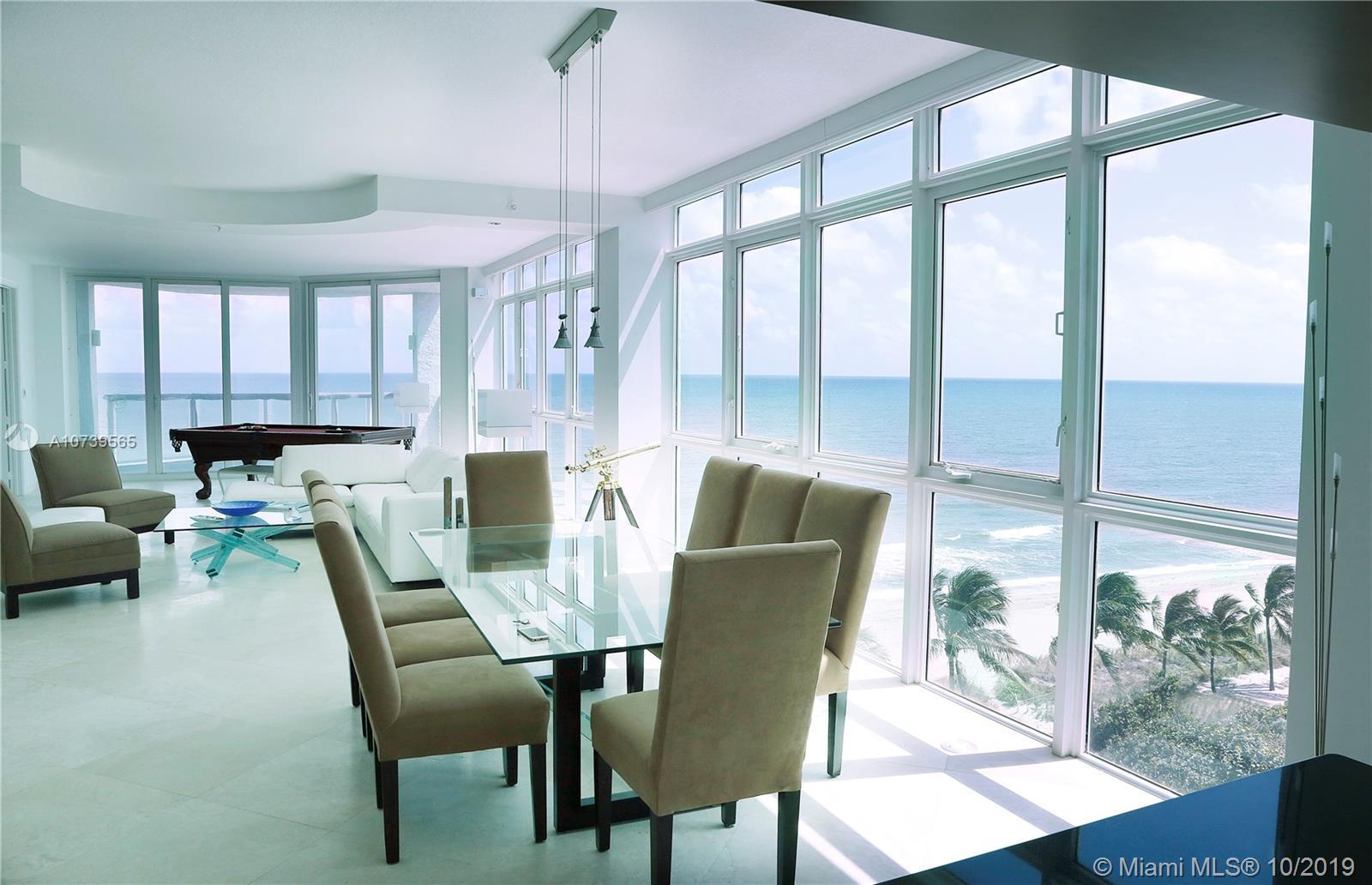 Sophisticated luxury boutique building, Cristelle Cay, Only 2 units per floor. Walls of glass with 9