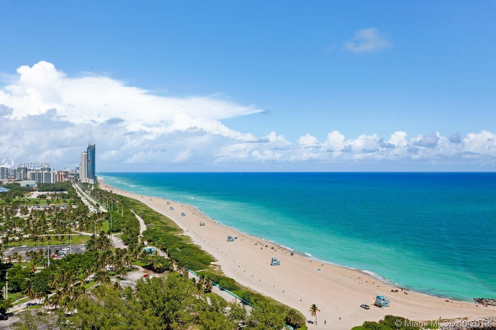 Beautiful and bright luxurious two bedroom residence in the Exclusive One Bal Harbour. Featuring 2 B