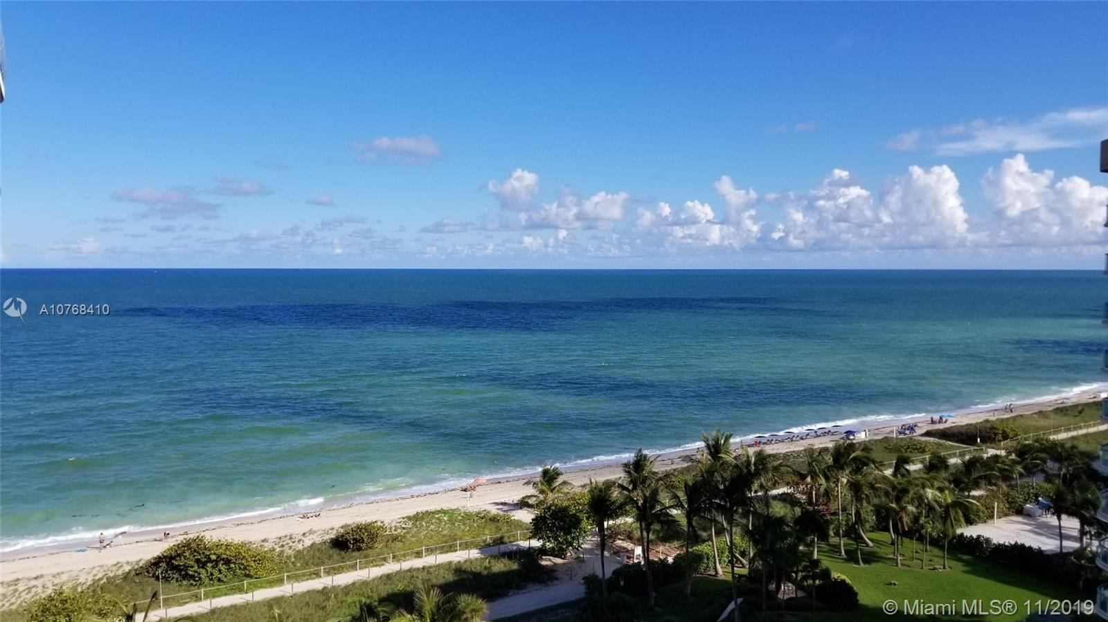 Direct Oceanfront views from this beautiful remodeled 3 bedrooms + large Den and 3 full bathrooms. E
