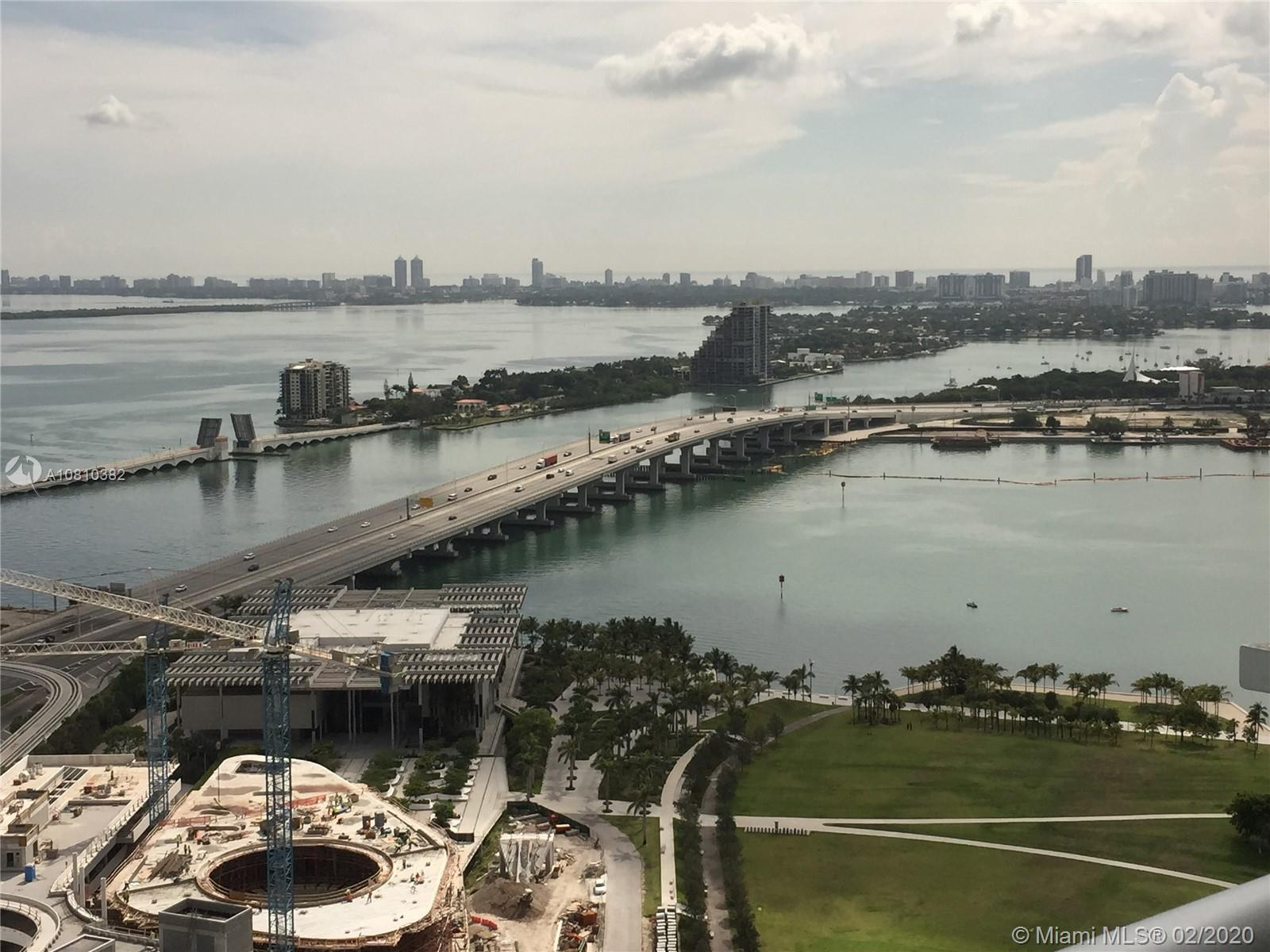 Centrally located, near South of 5th, mid-town, design district and Brickell.  Beautiful views and b