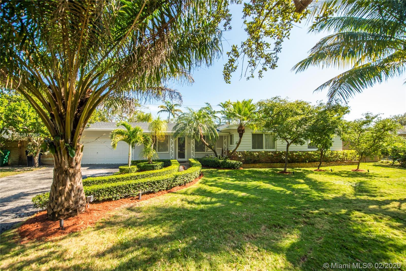 Welcome Home! Your very own tropical oasis in Pinecrest. This lovely 3 BR/2 BA has so much to offer.