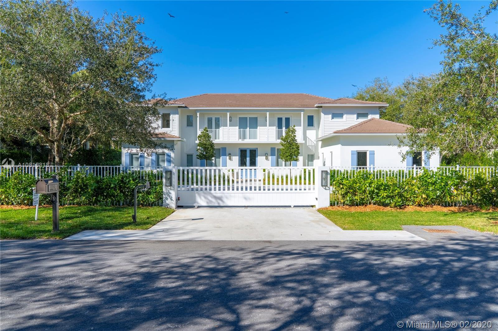 Gated Contemporary Plantation Estate completed 4th quarter 2018.  Features include wire brushed whit