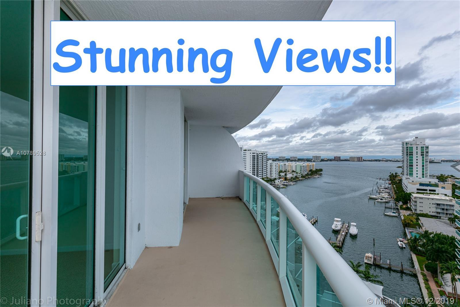 Amazing unit at the 360 condominium!! Featuring 2 Bedrooms and two baths, beautiful views from all r