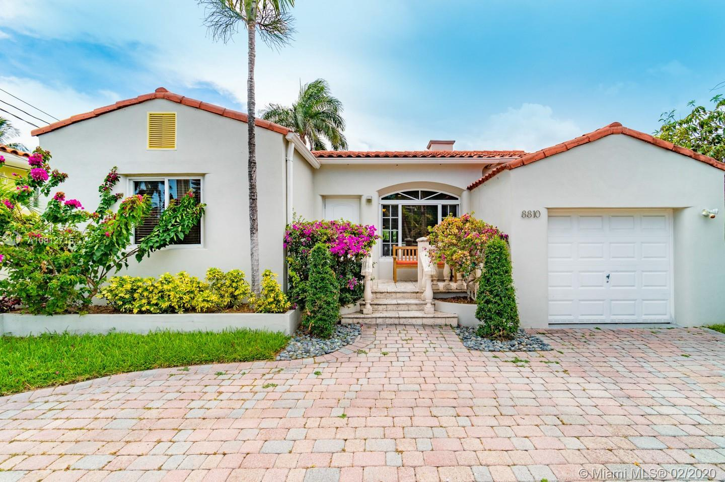 Rarely available 4Bd/3Ba + 1 Car Garage in the coveted beachfront community of Surfside. Situated on