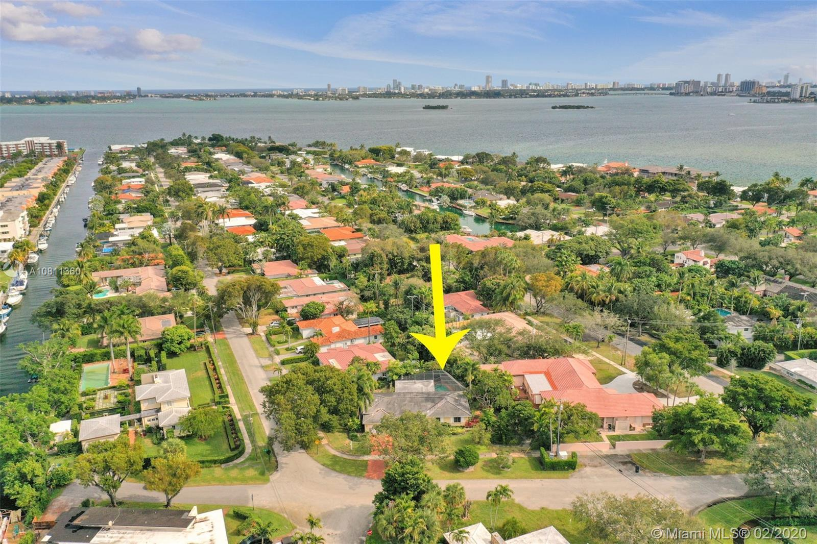 Amazing corner lot property in East Miami Shores (east of US1). This property features 3 bedrooms, 2