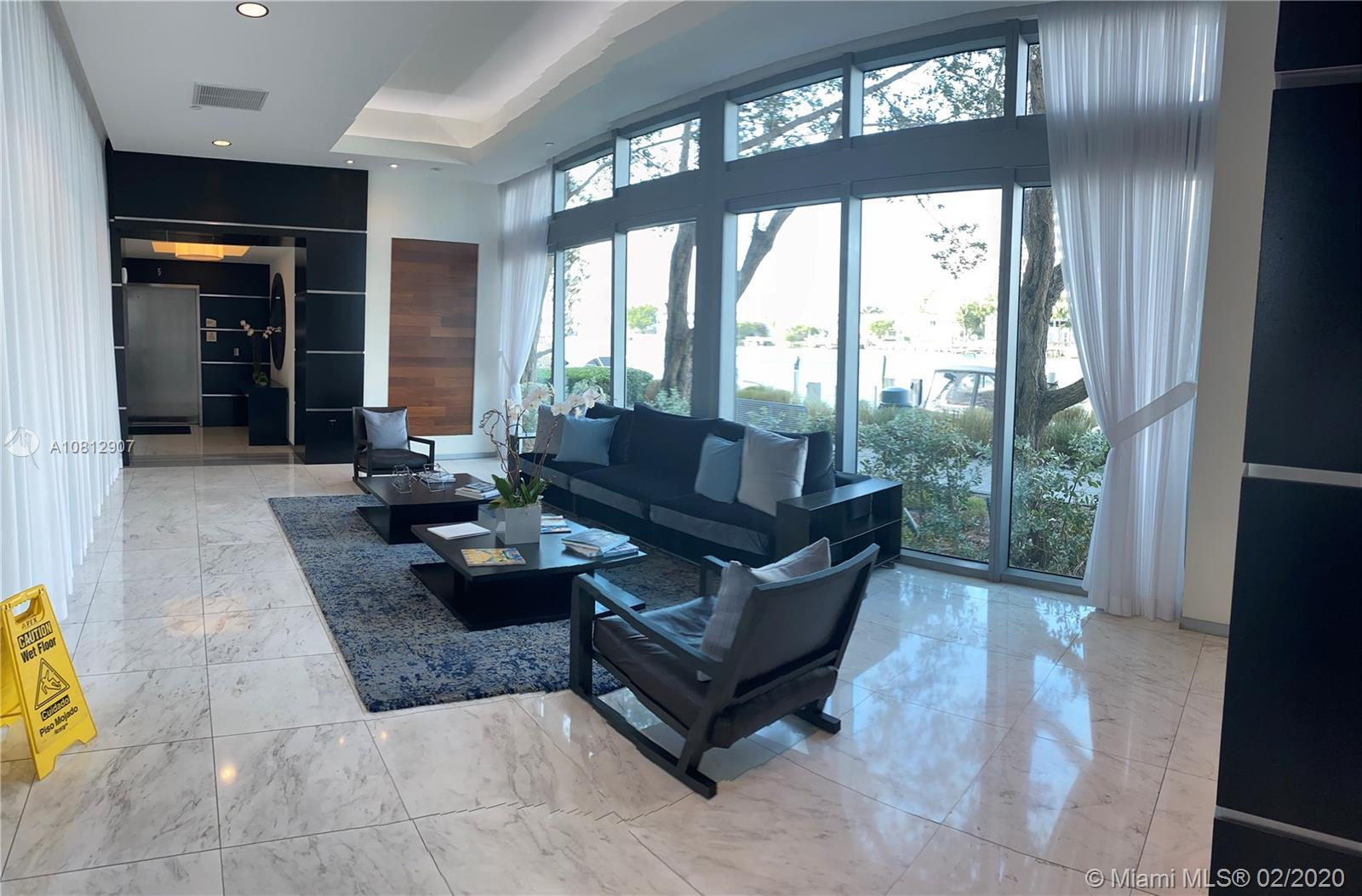 Unobstructed Bay views from this amazing corner unit. 2 bedroom each room and living room has a balc