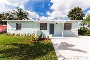 Newly Renovated 3 bedroom, 1 bath home in Boynton Beach. Actual sq. ft. is 1108 with enclosure.  New
