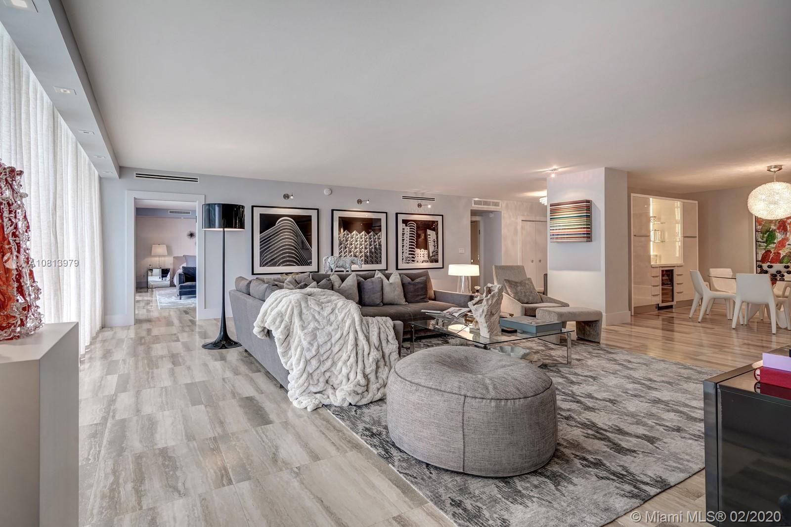 This exquisite open floor plan 2BE/3BA+ Den condo is crafted with the highest attention to detail fe