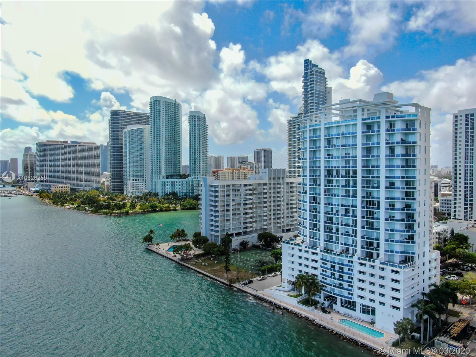 LOCATION! Beautiful Boutique Waterfront Building in Edgewater. Stepping into this lovely condo feels