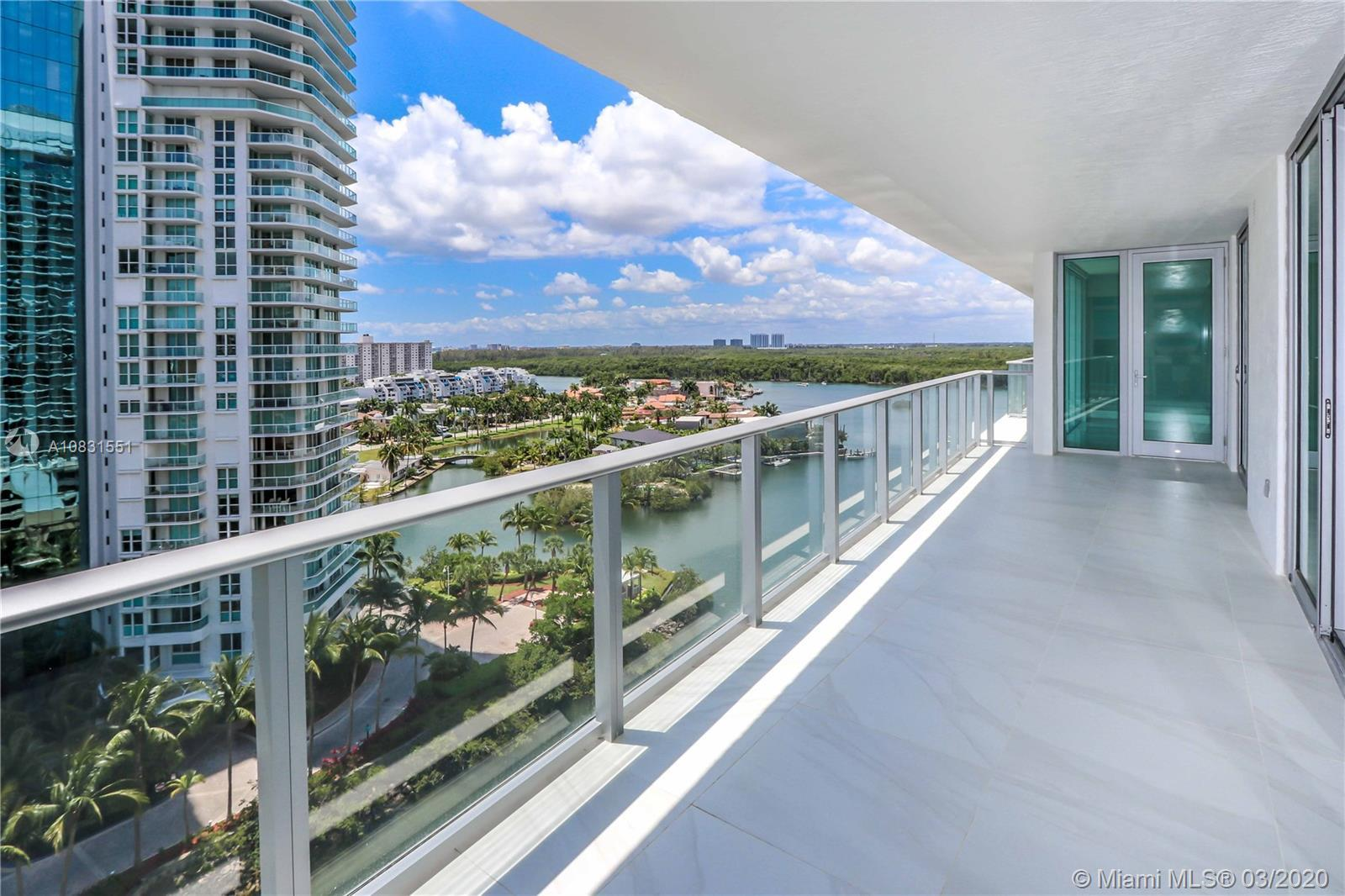 Best line of the building, facing south east with views to the ocean and the bay, a corner unit with