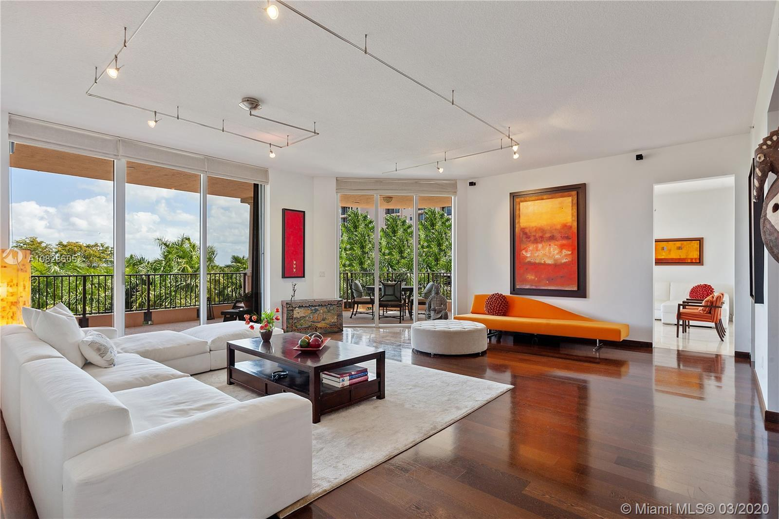 Magnificent,one of kind 4 bed/4.5 bath residence at prestigious Milano at Deering Bay.This modern fl