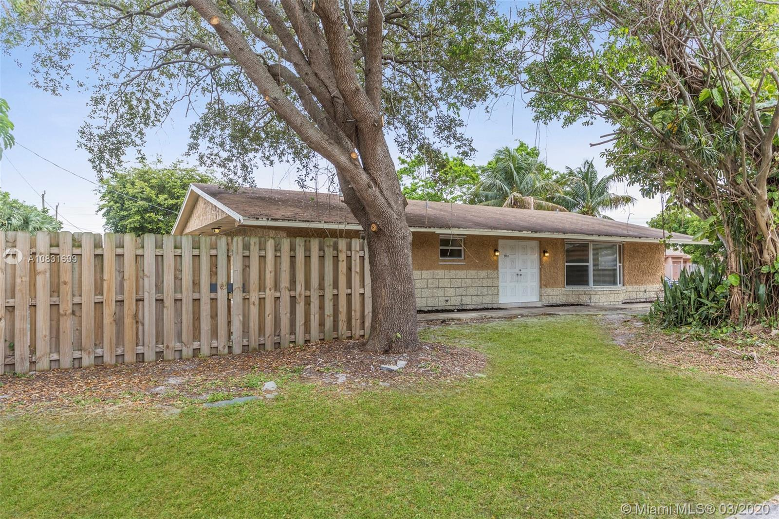This home is a great opportunity to move into the Pompano Beach area! This is an as-is home. Check i