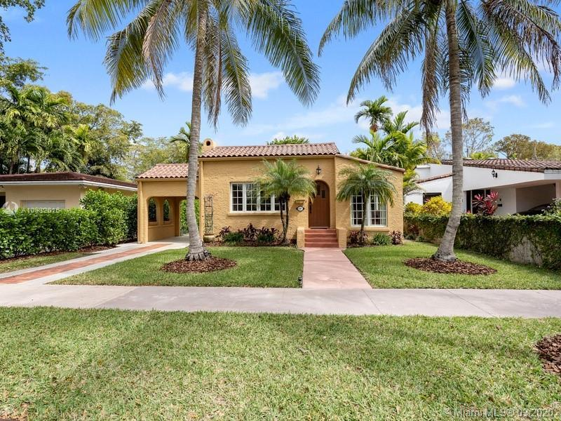 Beautiful Coral Gables residence filled with original old world charm with many updates.  Meticulous