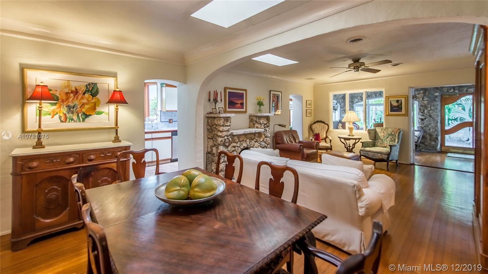 This lovely maintained 3bed/2 bath home offers all the unique beautiful features of old Spanish arch