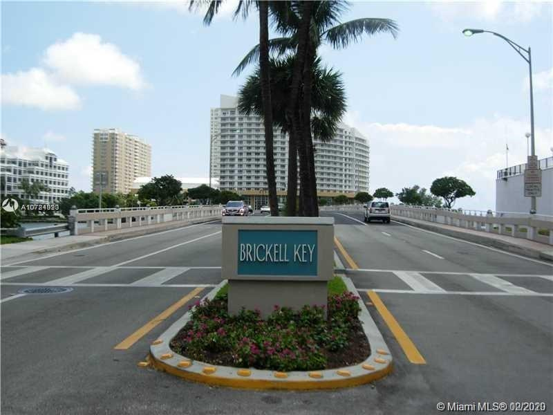 Great Opportunity to live in the exclusive and private Brickell Key Island! This STUDIO UNIT is wait