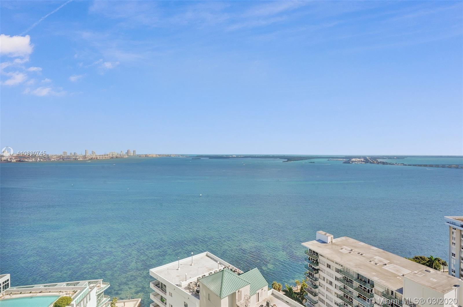 Enjoy breathtaking direct bay views from every room of this 2 bed/2.1 bath tower suite located in th