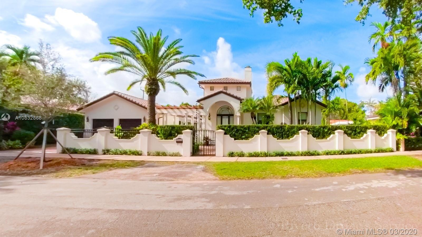 Sophisticated Luxury in The Heart of Gables, Blocks from Historical Granada Golf Course.   Spanish S