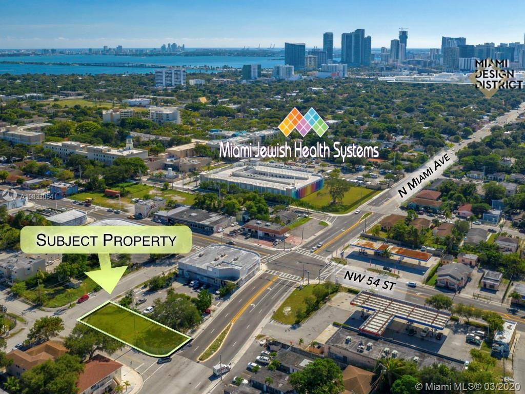 5434 NE Miami Court is a 6,750 square foot vacant lot directly fronting North Miami Avenue and NE 55