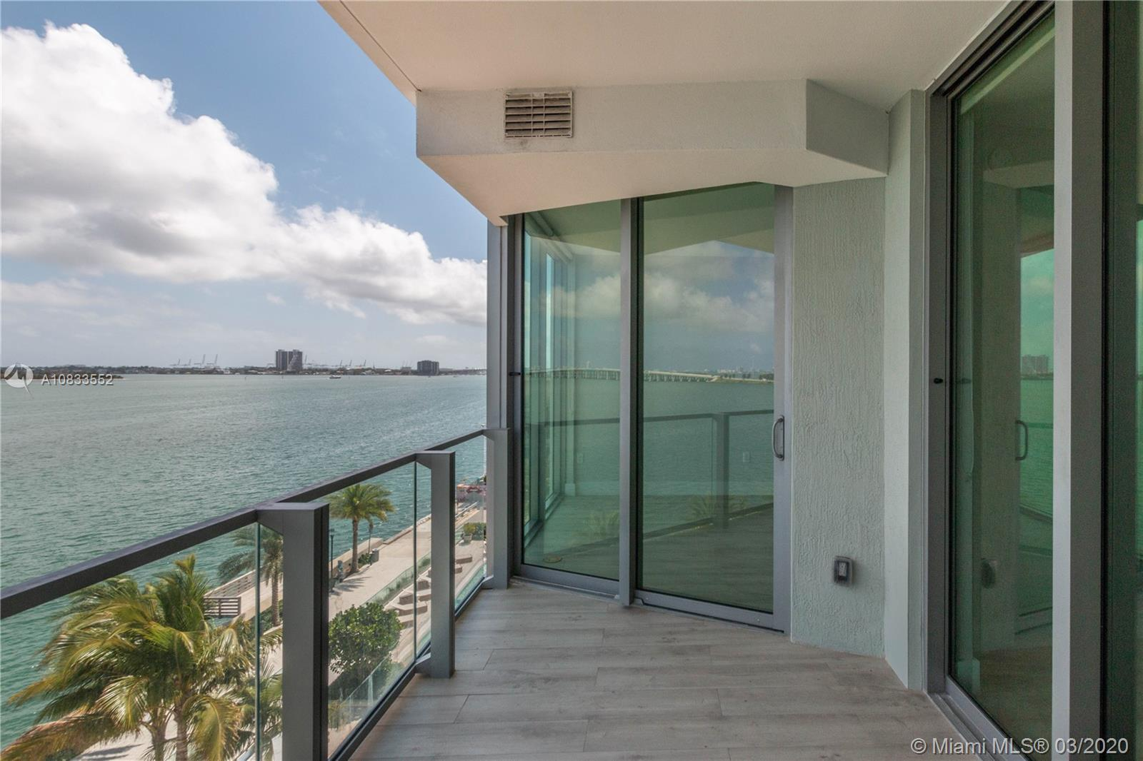 Biscayne Beach Residences one of the most sought out buildings on Edgewater. This one bedroom plus e