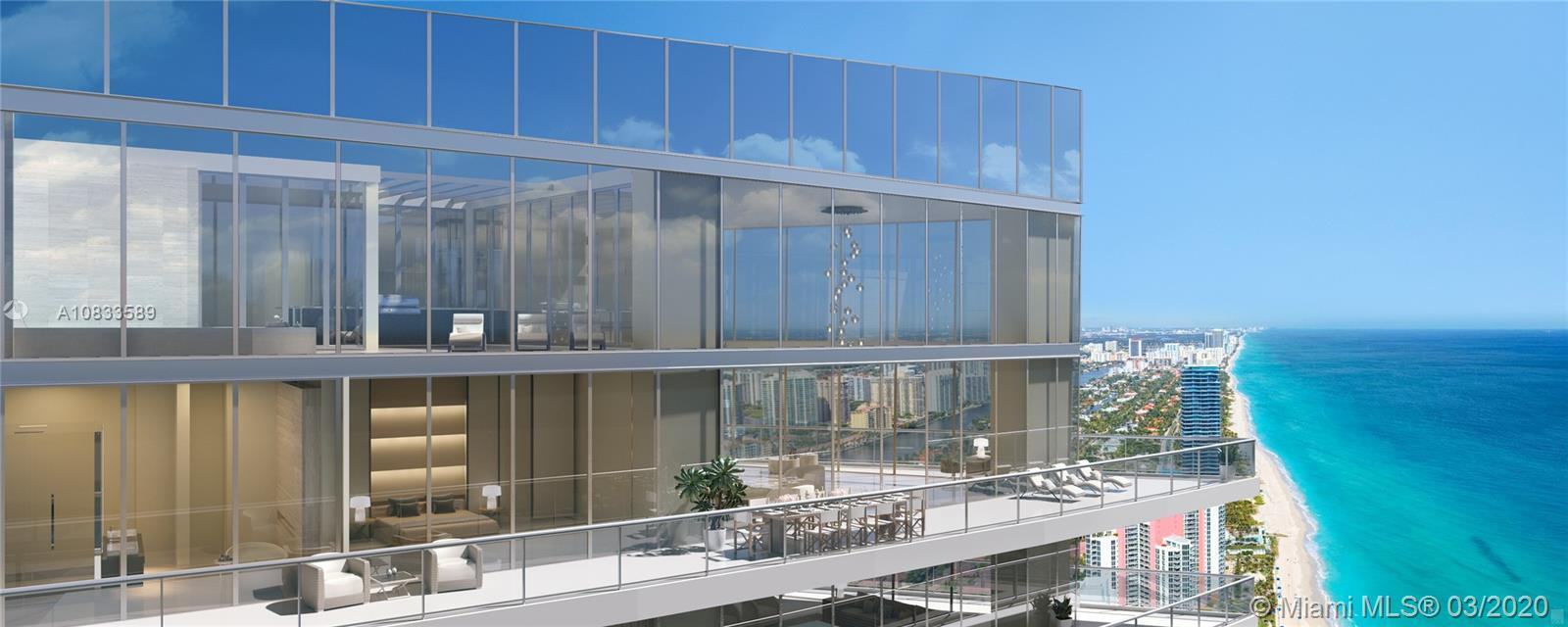 WOW! AMAZING CORNER DUPLEX PENTHOUSE IN THE LUXURIOUS RESIDENCES BY ARMANI/CASA. OVER 20 FOOT CEILIN