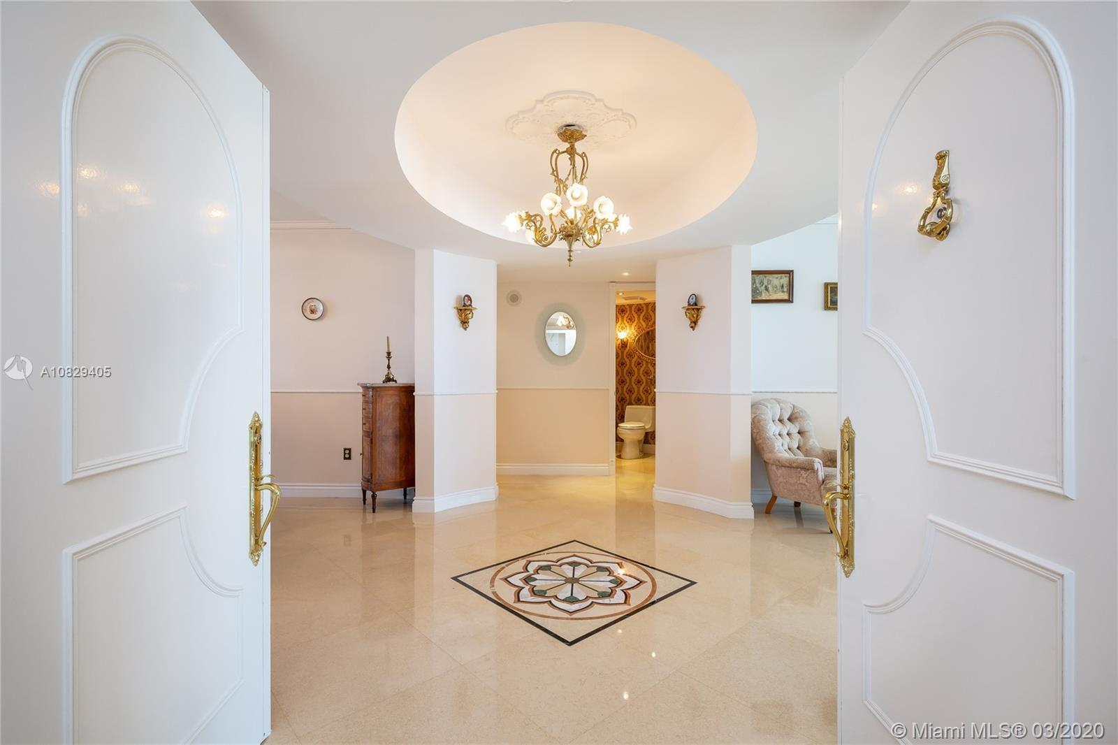 Immaculately maintained 2 Bed + Den / 2.5 Bath at one of Sunny Isles most luxurious residences, Ocea