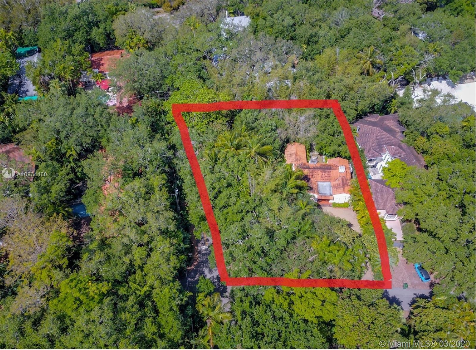 Large lot in great south Grove location. 13,000+ SF Corner property on Frantz and Crawford. Home ha