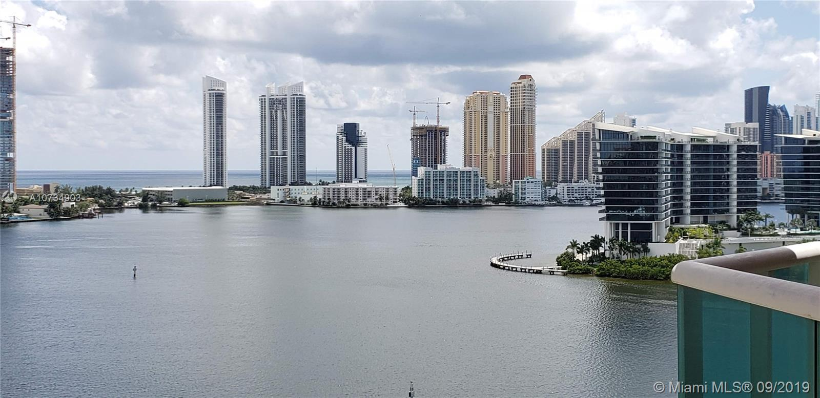 HIDDEN BAY CONDO IN AVENTURA / 2 BEDROOM, 2.5 BATHROOMS WITH FLOOR TO CEILING WINDOWS SHOWING OFF TH