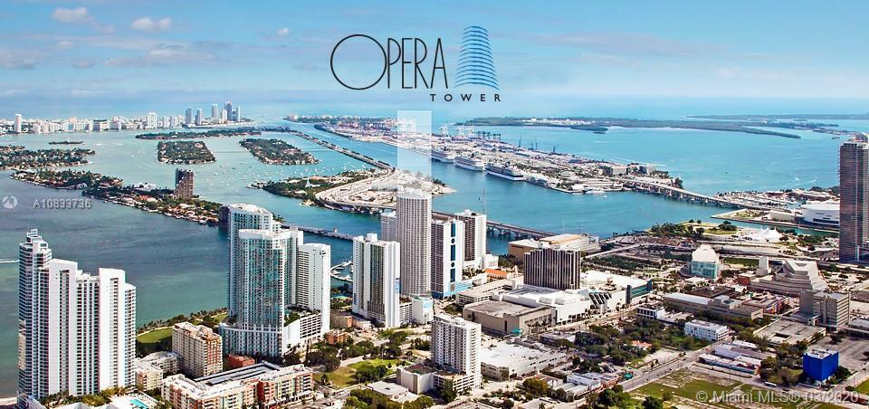 Nestled in the heart of the fashionable Edgewater neighborhood, Opera Tower lies between the turquoi