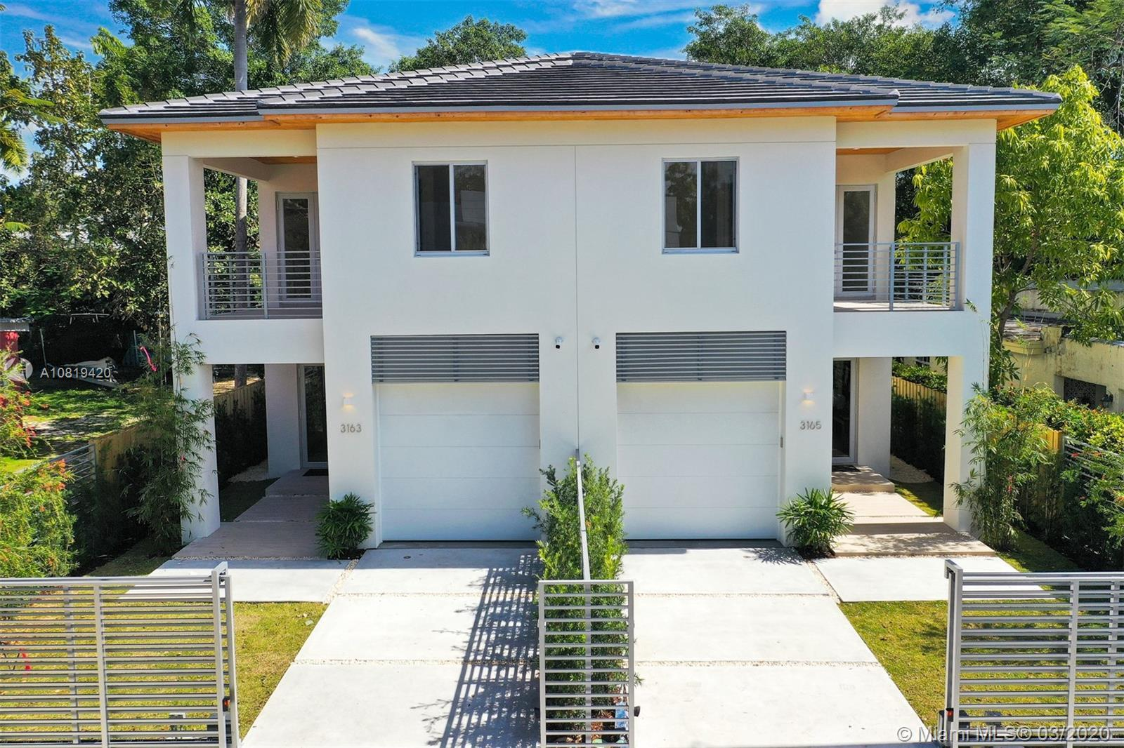 Brand New Construction 2020 !! Modern townhouse with 4 bedrooms, 4 full bath. Top of the line Bosch