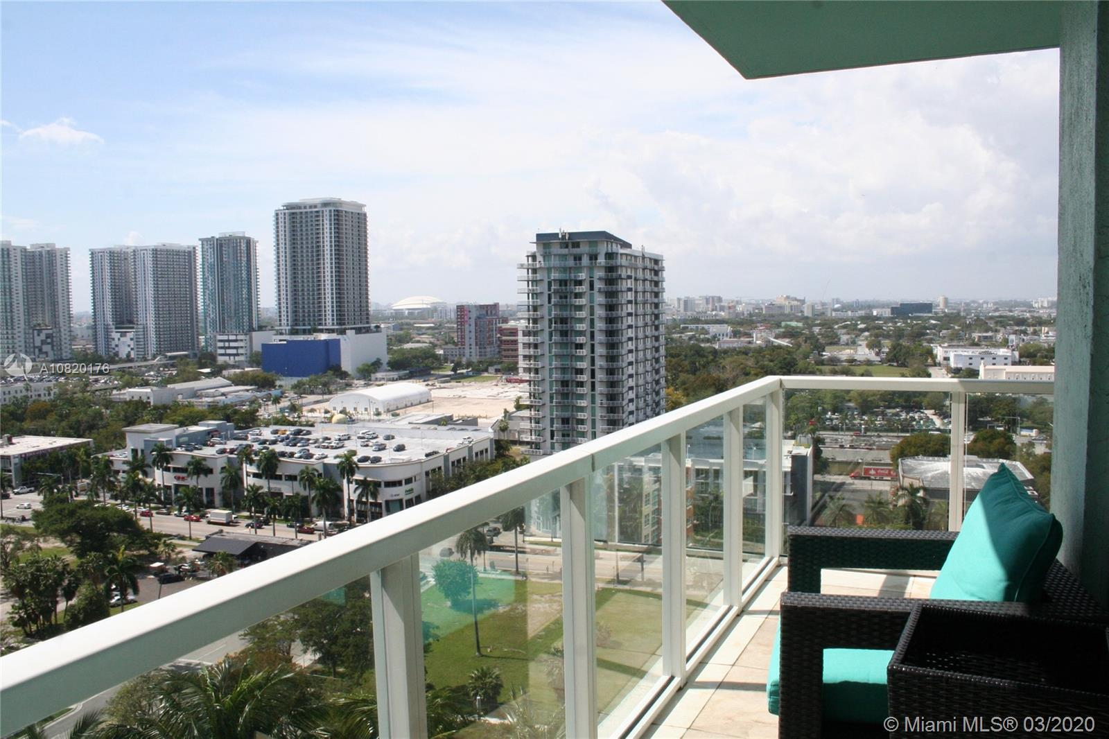 Quantum on the Bay located in booming Edgewater Miami. Spacious 2 bedrooms 2 bath great layout over