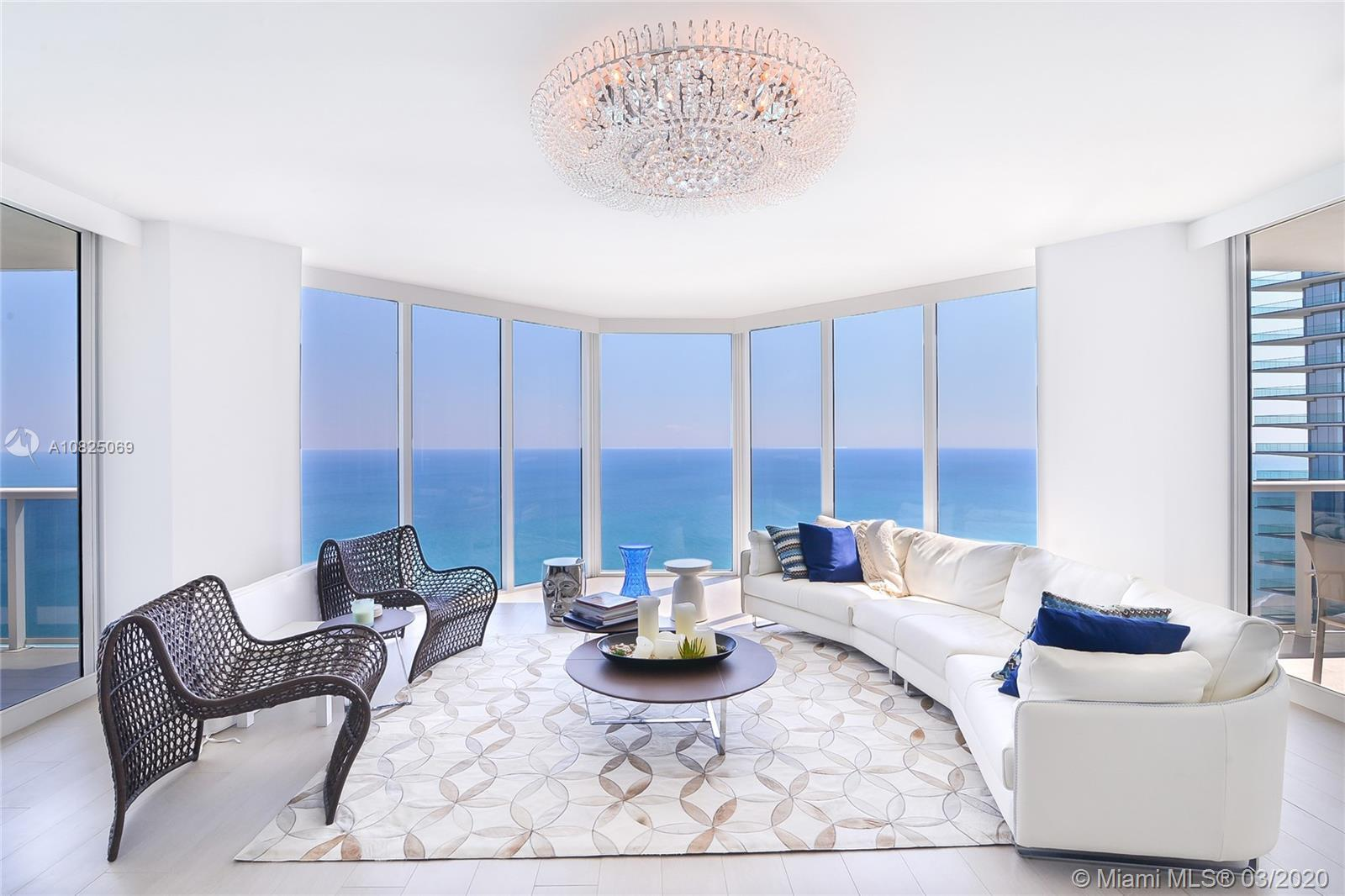 Gorgeous direct ocean views from this totally remodeled unit located in the luxurious Ocean Two Cond