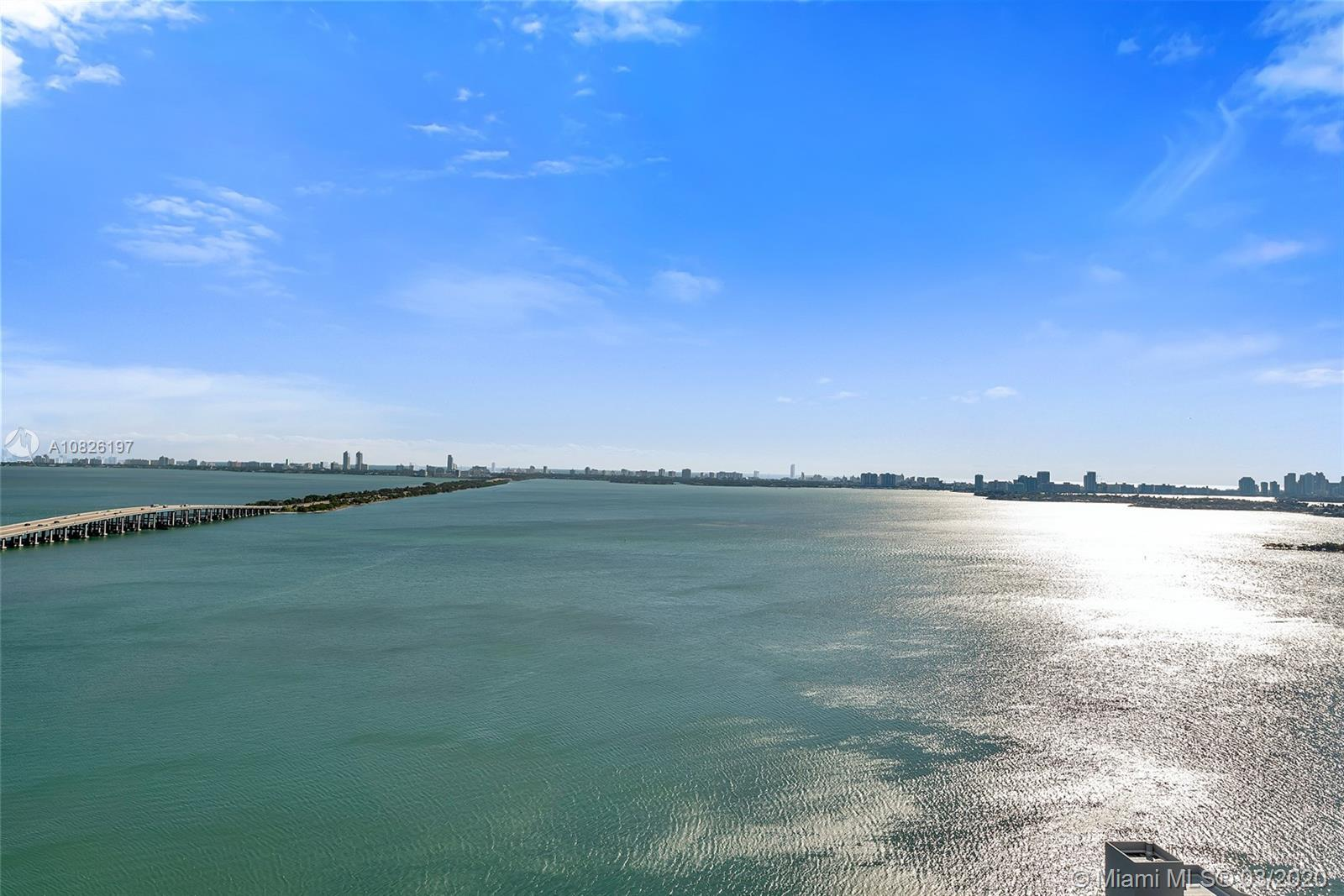 Gran Paraiso # 2405 features sweeping direct views of Biscayne Bay, an oversize balcony perfect for
