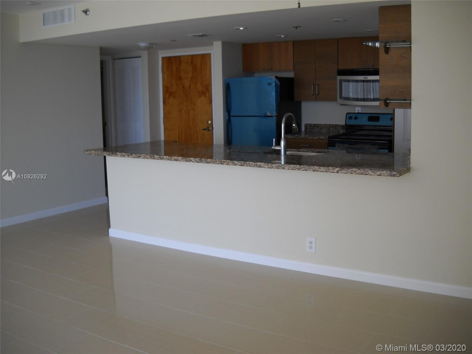 Gorgeous water views. 2 bedrooms/ 2 bathrooms, compl remodeled. Porcelain floors throughout. Open ki