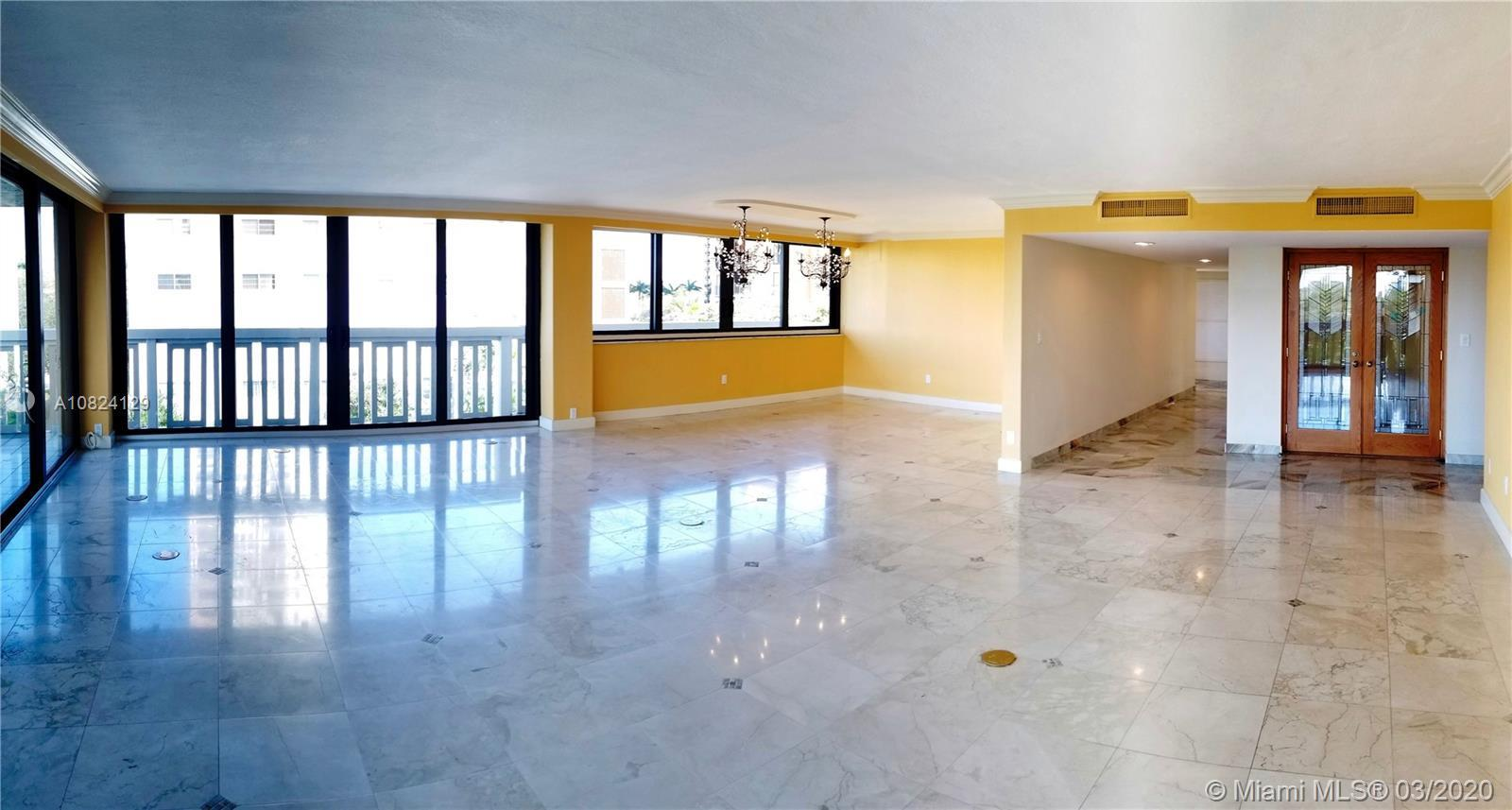 Full floor, 3th floor condo unit with views from every direction, in this private, secure, 12 unit b