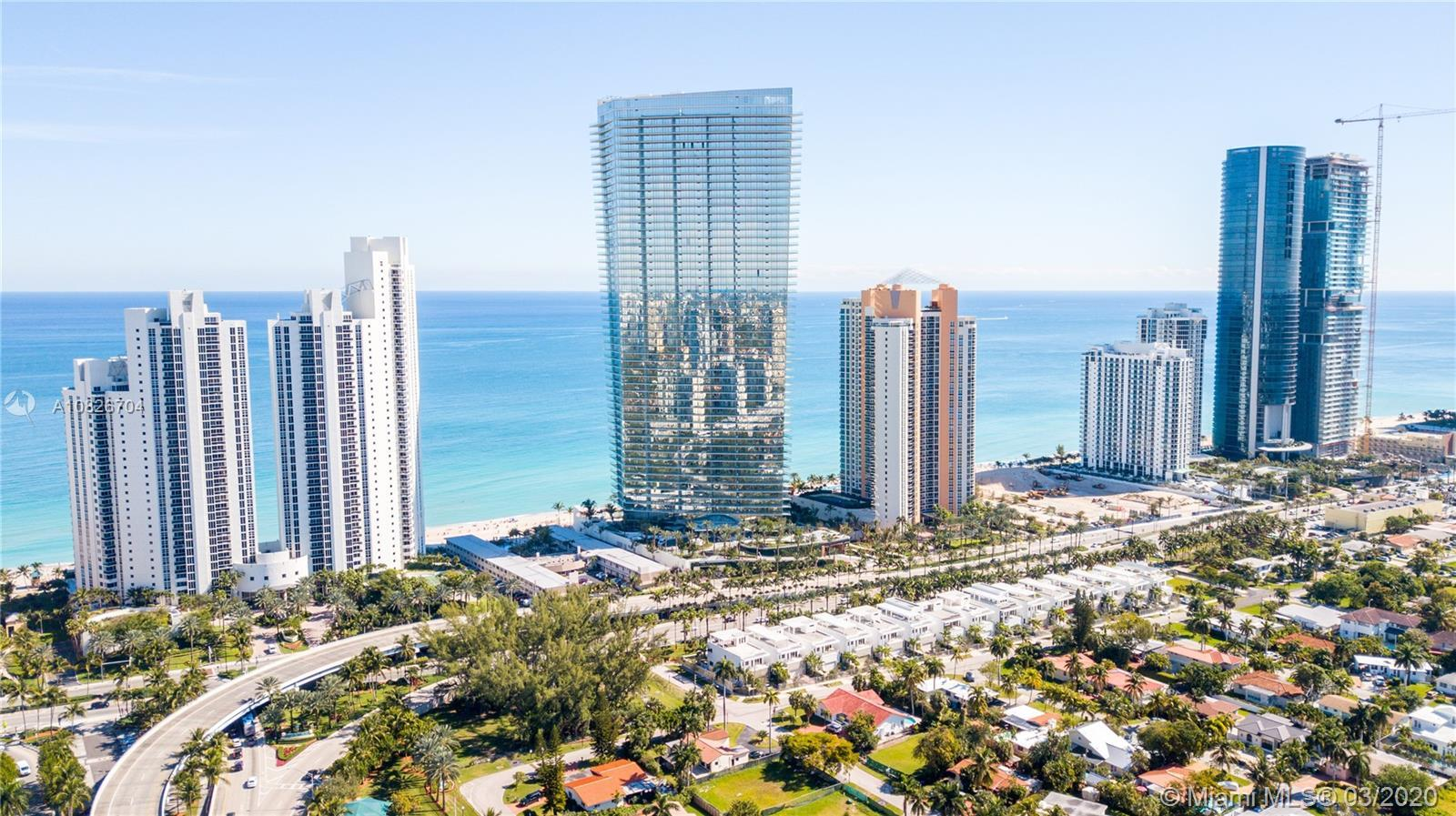 SPECTACULAR RESIDENCE AT ARMANI CASA WITH GORGEOUS INTRACOASTAL AND OCEAN VIEWS! 2 BEDS / 2 BATHS, 1