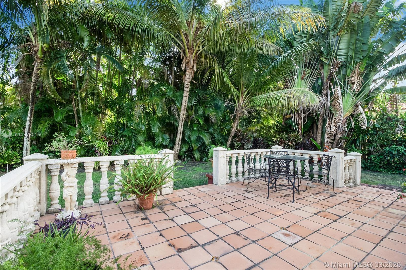 Location, Location!  Great opportunity in the quiet Village of Miami Shores.  Charming 2 beds\1 bath