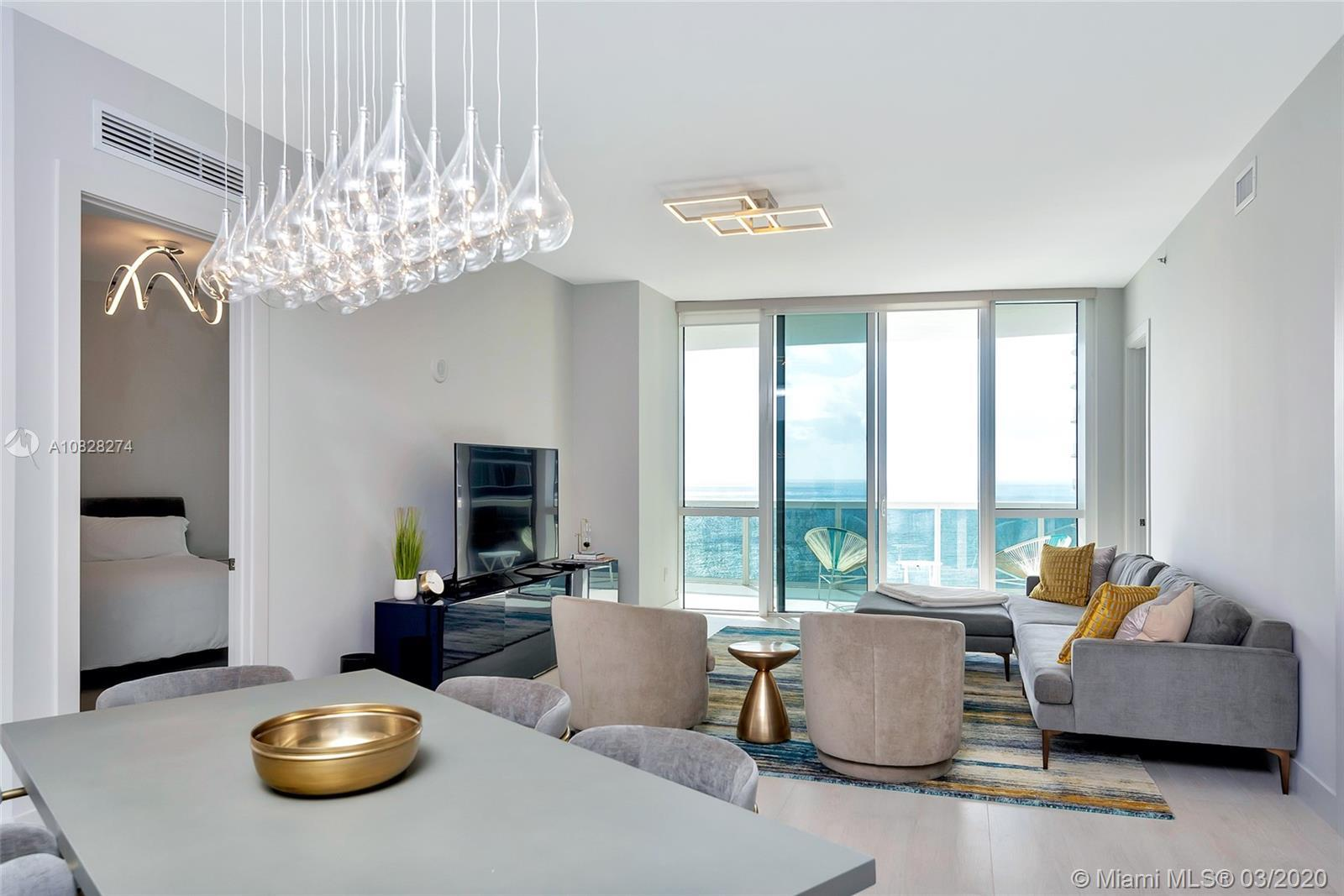 Unit 2107 is a design masterpiece. Completely upgraded and renovated with Porcelain floors throughou