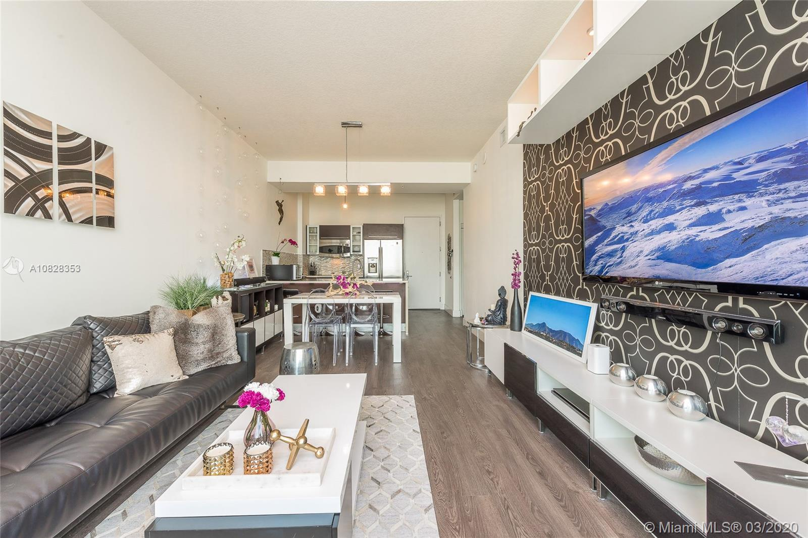 Amazing PH for sell at Gallery Art, the heart of Edgewater. Completely remodeled. Owner occupied. It