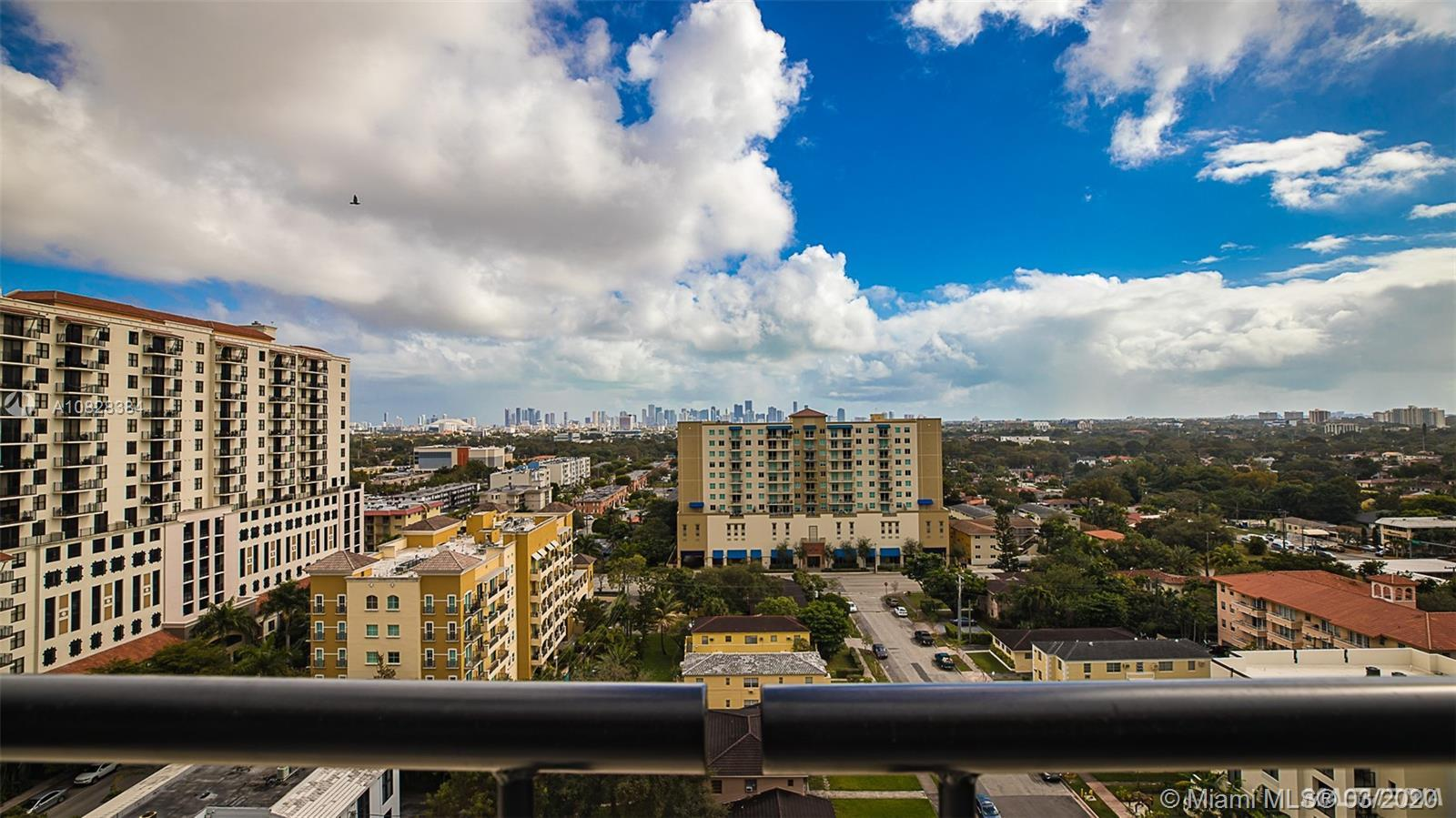From the moment you walk into this Penthouse apartment you will fall in love with the view!  The uni