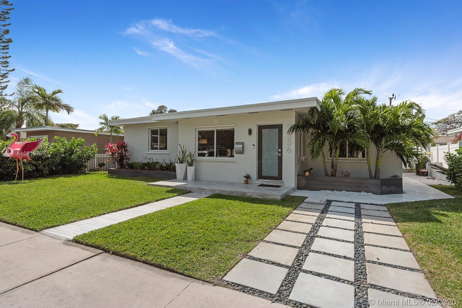 WELCOME HOME! THIS IMMACULATE, MODERN POOL HOME ON TREASURE ISLAND IN POSH NORTH BAY VILLAGE PROVIDE