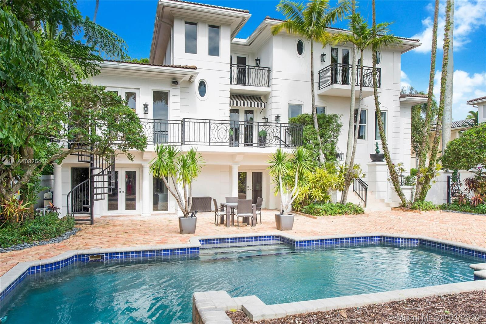Beautiful remodeled home, in GATED community, Treasure Trove in Coconut Grove. Majestic surroundings