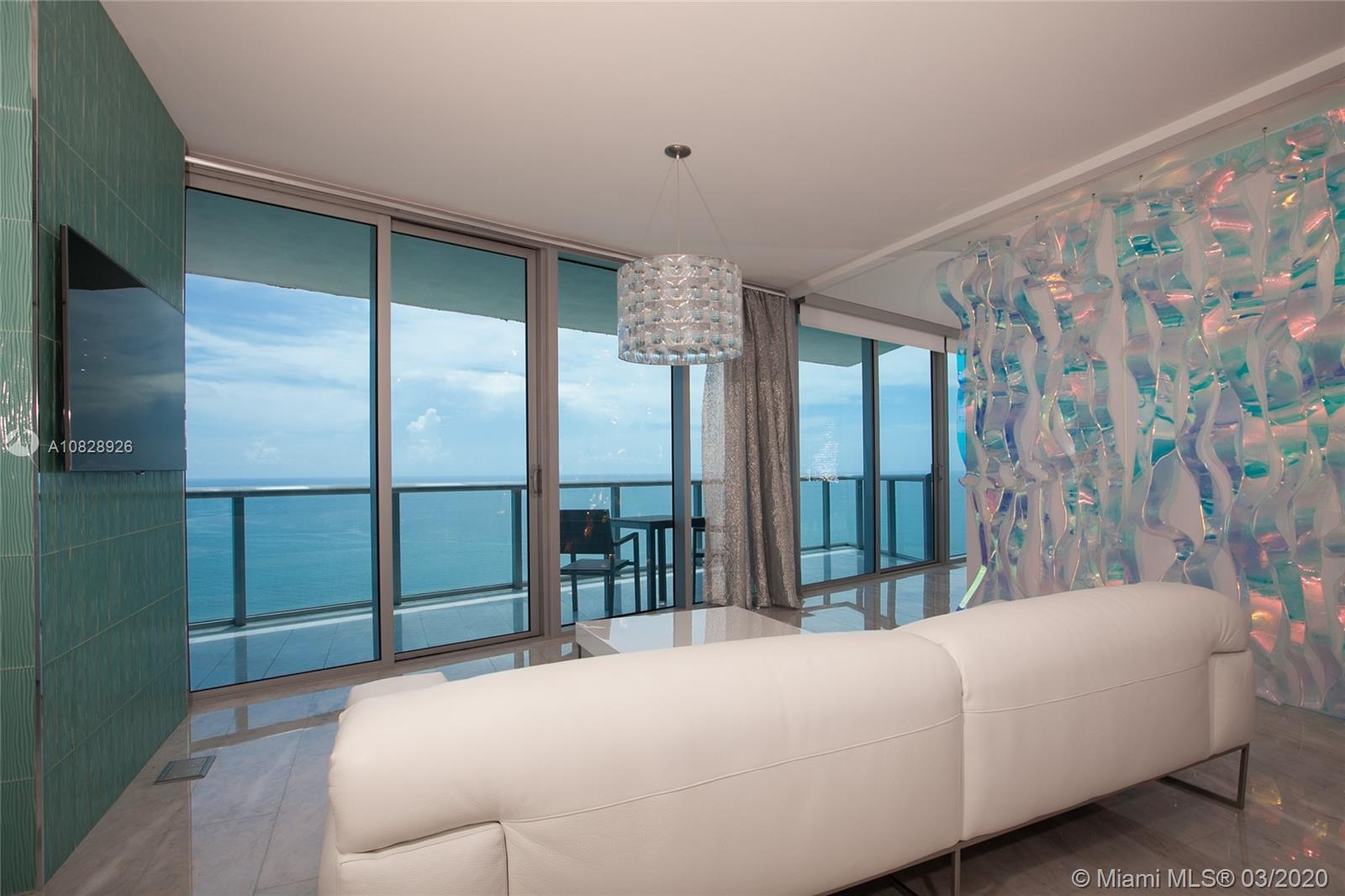Luxurious oceanfront residence with breath taking direct ocean views from every room. This model fea