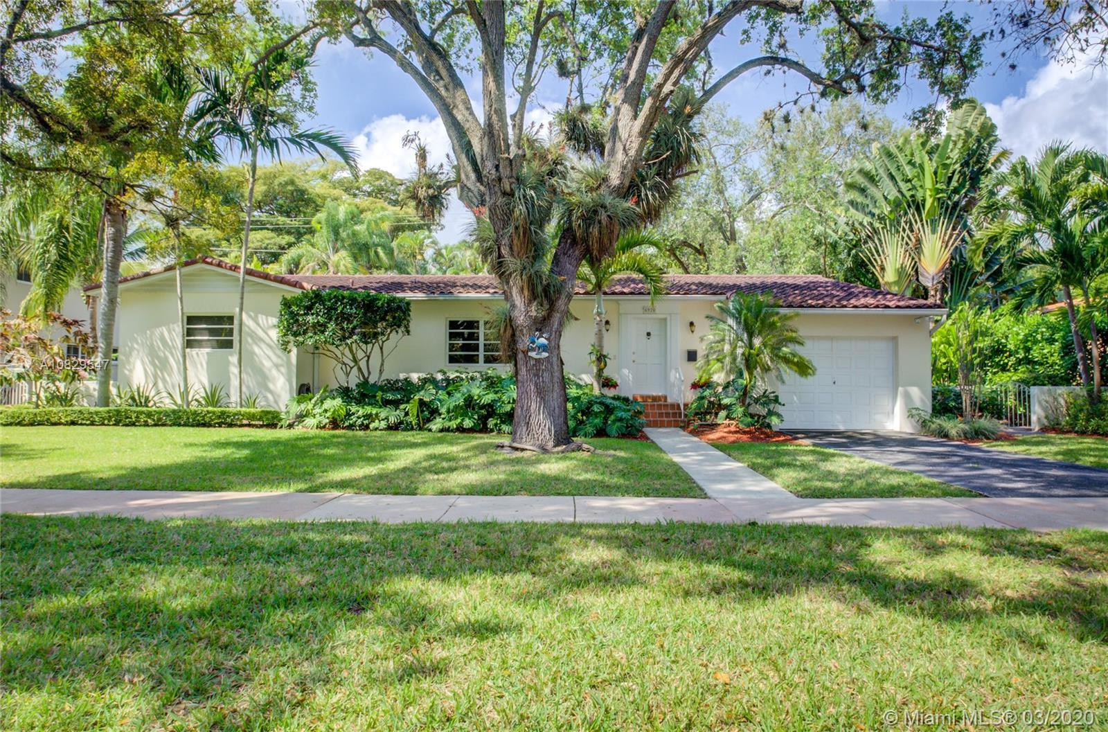 Nestled in the highly coveted neighborhood of South Coral Gables, sits a charming 3-bedroom, 2-bathr