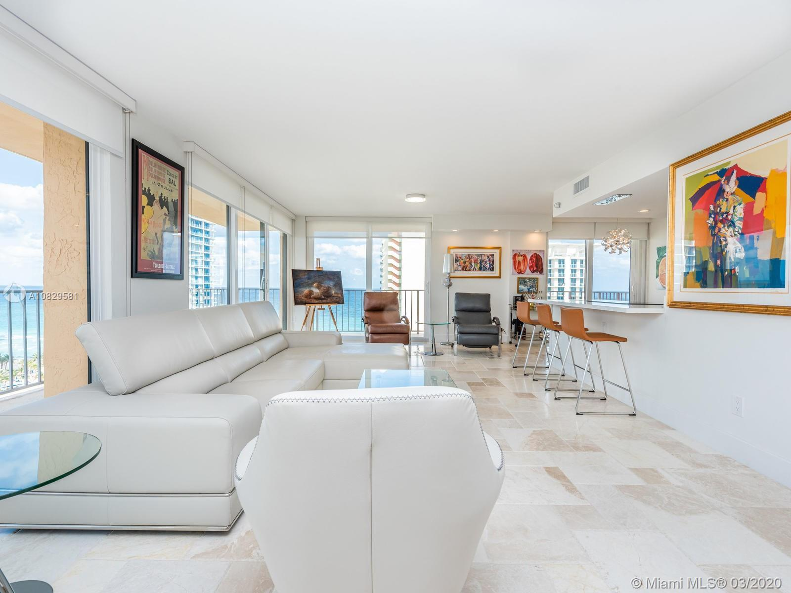 Magnificent Top Floor Corner Wraparound like no other in town! Ocean and bay views from this complet