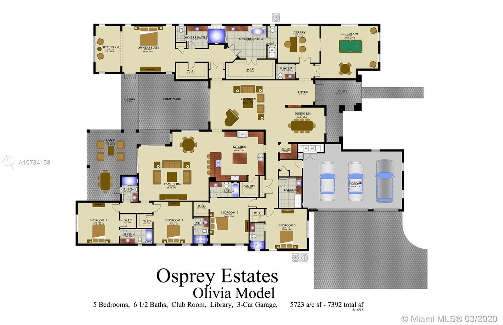 This is a PRE-CONSTRUCTION opportunity at Osprey Estates! Osprey Estates is a hidden enclave of 12 A