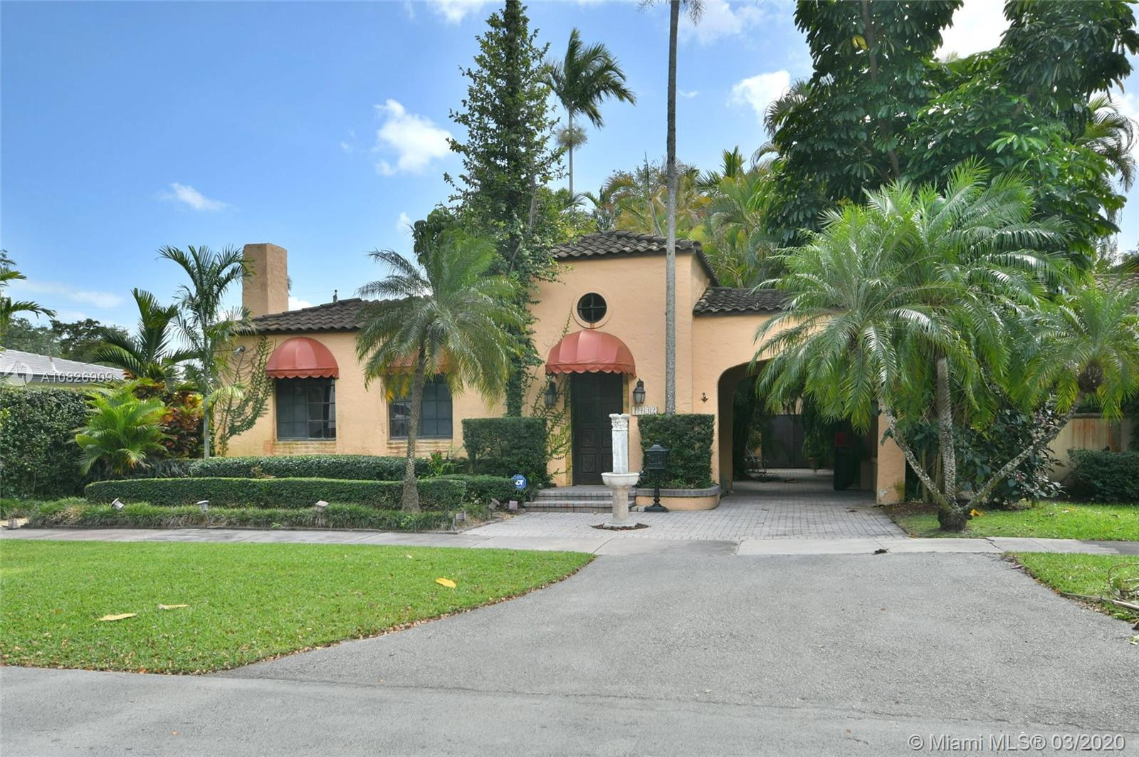 1930 Old Spanish style house full of old-world charm, elegance and ambiance. Located on a tranquil C